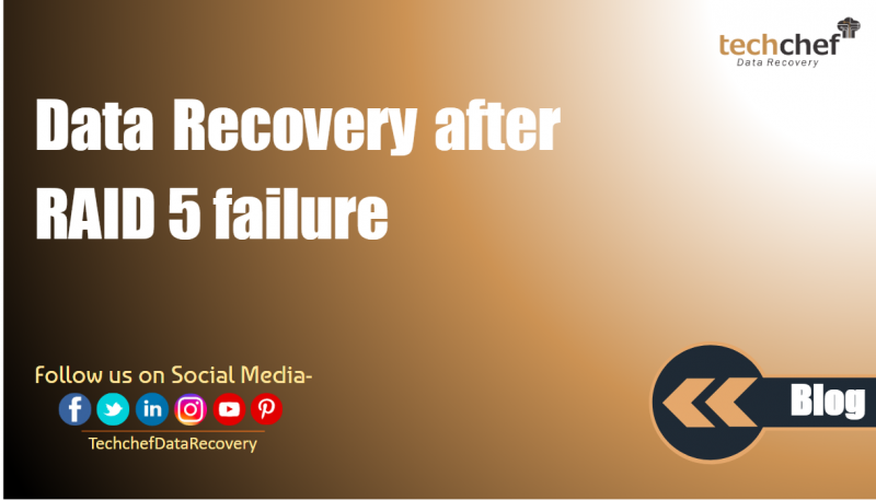 Data Recovery after RAID 5 failure