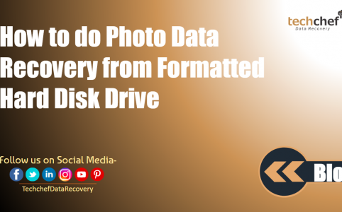 How to do Photo Data Recovery from Formatted Hard Disk Drive