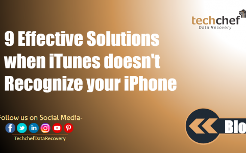9 Effective Solutions when iTunes doesn't Recognize your iPhone