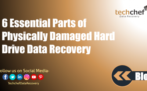 6 Essential Parts of Physically Damaged Hard Drive Data Recovery