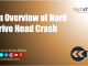 An Overview of Hard Drive Head Crash